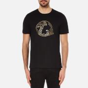 Versace Collection Men's Medusa Beaded Printed T-Shirt - Black