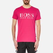 BOSS Hugo Boss Mens Large Logo TShirt  Pink  XL