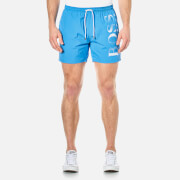 BOSS Hugo Boss Men's Octopus Swim Shorts - Blue