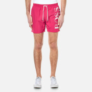 BOSS Hugo Boss Men's Octopus Swim Shorts - Pink