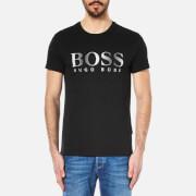 BOSS Hugo Boss Mens Large Logo TShirt  Black  S