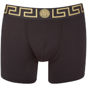 Versace Collection Men's Iconic Trunk Boxer Shorts - Black