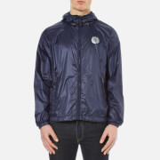 Versace Jeans Men's Contrast Badge Showerproof Jacket - Navy