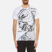 Versace Jeans Men's Lion Print T-Shirt - White