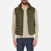 Polo Ralph Lauren Men's Packable Down Vest - Company Olive