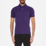 Polo Ralph Lauren Men's Slim Fit Polo Shirt - Plum Candy