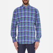 Polo Ralph Lauren Mens Long Sleeved Shirt  Liberty Blue  S