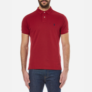 Polo Ralph Lauren Men's Custom Fit Polo Shirt - Eaton Red