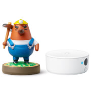 Nintendo 3DS NFC Reader/Writer + Resetti amiibo (Animal Crossing Collection)