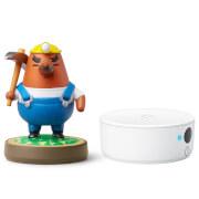Nintendo 3DS NFC Reader/Writer + Resetti amiibo (Animal Crossing Collection)