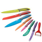 Swan 8 Piece Multi Colour Knife Set