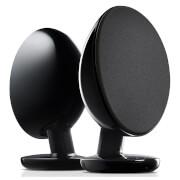 KEF EGG Bluetooth Stereo Speakers - Black
