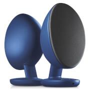 KEF EGG Bluetooth Stereo Speakers - Blue