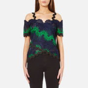 Three Floor Women's Kaa Top - Emerald Green/Navy