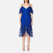Three Floor Women's Enfold Dress - Blue - UK 8 - Blue