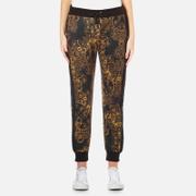 Versace Jeans Women's Multi Print Joggers - Black