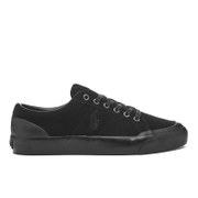 Polo Ralph Lauren Men's Ian Vintage Suede Trainers - Black