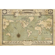 Fantastic Beasts Map Maxi Poster - 61 x 91.5cm