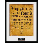 "Harry Potter Happiness Can Be Framed Photographic - 16"""" x 12"""