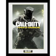 "Call Of Duty Infinite Warfare New Key Art Framed Photographic - 16"""" x 12"""