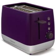 Morphy Richards 221108 Chroma Plastic 2 Slice Toaster - Plum