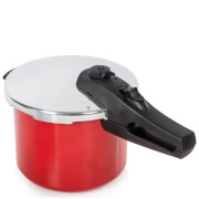 Morphy Richards 977700 5L/20cm Aluminium Pressure Cooker - Red