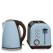 Morphy Richards Accents Kettle and Toaster Bundle - Azure