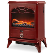 Pifco DN007 2000W Stove Fire - Red
