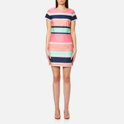 GANT Women's Pastel Shift Dress - Bright Magenta