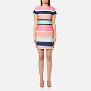 GANT Women's Pastel Shift Dress - Bright Magenta