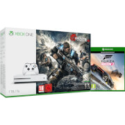 Xbox One S 1TB Console  Includes Gears of War 4 and Forza Horizon 3