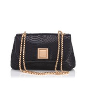 Dune Women's Ellaa Double Chain Shoulder Bag - Black