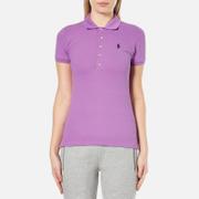 Polo Ralph Lauren Womens Julie Polo Shirt  Resort Purple  XS