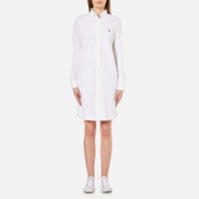 Polo Ralph Lauren Womens Oxford Shirt Dress  White  L