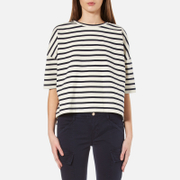 Samsoe & Samsoe Women's Ellie Striped Top - Breton Cream