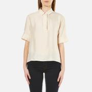 Samsoe & Samsoe Women's Henin Short Sleeve Shirt - Pink Tint