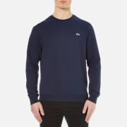 Lacoste Men's Crew Neck Sweatshirt - Navy