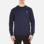 Lacoste Men's Crew Neck Sweatshirt - Navy