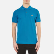 Lacoste Men's Short Sleeve Pique Polo Shirt - Mariner