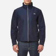 Lacoste Men's Zipped Rain Jacket - Navy - EU 46/S - Navy