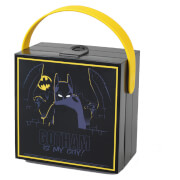 LEGO Batman Lunch Box with Handle - Black