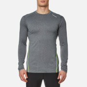 Bjorn Borg Men's Pierre Long Sleeve Performance T-Shirt - Anthracitre Grey