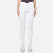 Levis Women's 721 High Rise Skinny Jeans - Western White