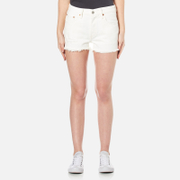 Levis Womens 501 Denim Shorts  With the Band  W29