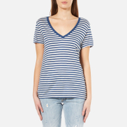 Levi's Women's Perfect V-Neck T-Shirt - Willow Dutch Blue