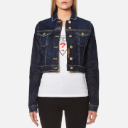 Guess Women's Tokyo Denim Cropped Jacket - Kind