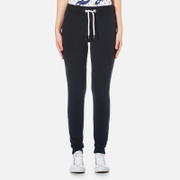 Superdry Women's Orange Label Luxe Lite Edition Slim Joggers - Eclipse Navy