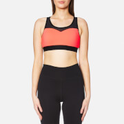 Superdry Women's Gym Mesh Sports Bra - Shocking Red