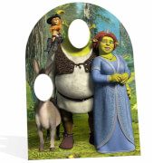 Double Passe-Tête en Carton Shrek