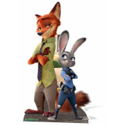 Silhouette en Carton Disney Zootopie Judy Hopps Nick Wilde
